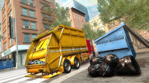 Garbage Truck Driving Simulator - Truck Games 2020 screenshot 2