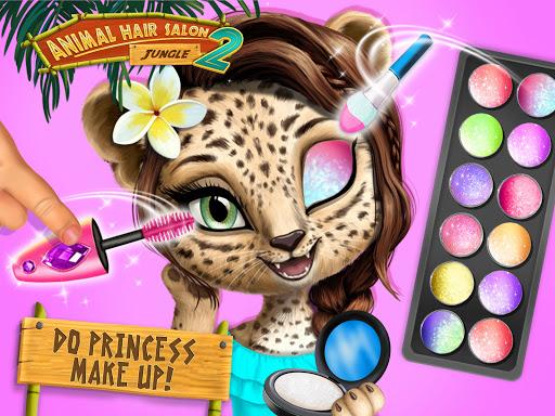 Jungle Animal Hair Salon 2 - Tropical Beauty Salon स्क्रीनशॉट 9