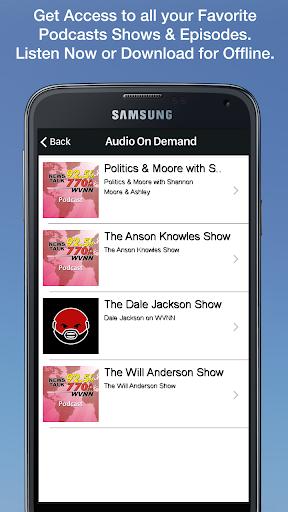 WVNN NewsTalk 3 تصوير الشاشة
