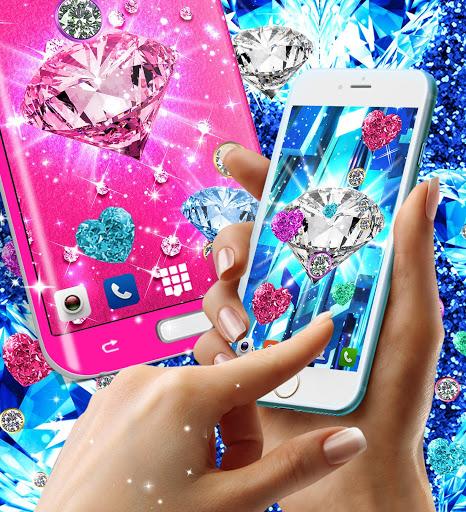 Diamond live wallpaper 4 تصوير الشاشة