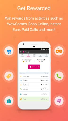 WowApp - Earn. Share. Do Good screenshot 2
