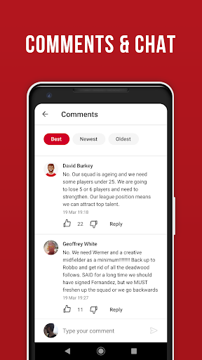 LFC Live – Unofficial app for Liverpool fans скриншот 3