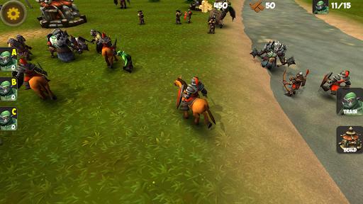 OrcWar Clash RTS screenshot 2