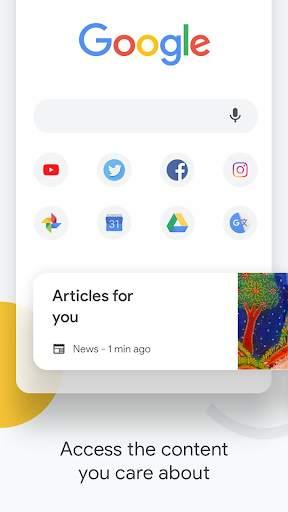 Google Chrome: Fast & Secure screenshot 1