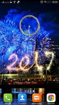 السنة الجديدة على مدار الساعة 2 تصوير الشاشة
