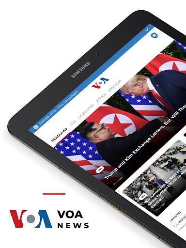 VOA News 7 تصوير الشاشة