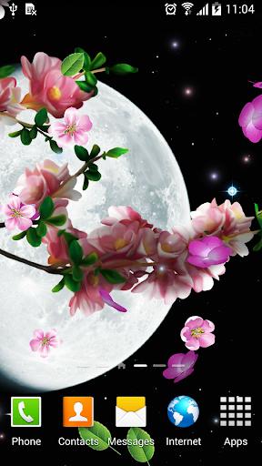 Sakura and Bird Live Wallpaper screenshot 2