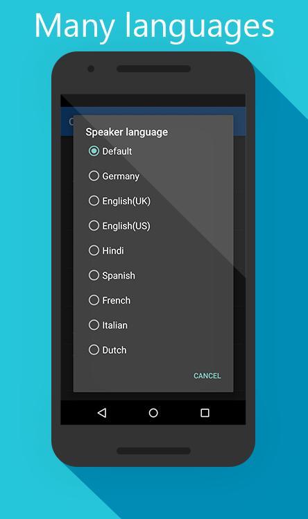 Caller Name Speaker screenshot 2