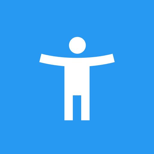 ikon Rangkaian Fitur Aksesibilitas Android