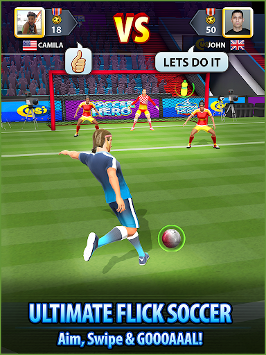 Soccer! Hero स्क्रीनशॉट 3