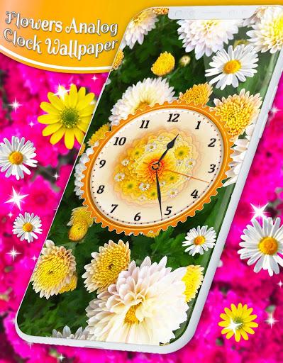 Flower Blossoms Clock 🌺 Spring 4K Live Wallpaper screenshot 4