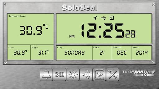 درجة الحرارة منبه 6 تصوير الشاشة