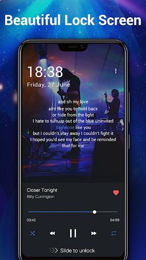 Pemutar musik - MP3 Pemain & 10 Band Equalizer screenshot 20