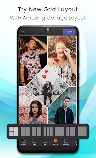 Photo Collage Maker -Picmix- Beauty Selfie Camera screenshot 4