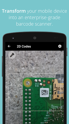 Scandit Barcode Scanner Demo screenshot 2