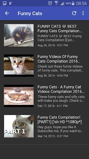 Funny Video Clips 4 تصوير الشاشة