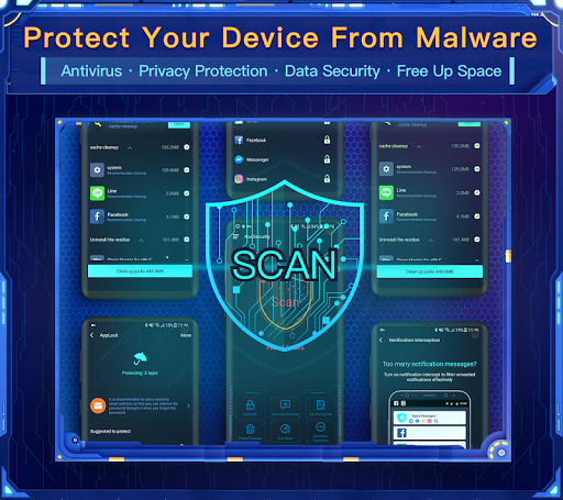 Nox Security - Antivirus Master, Clean Virus, Free 1 تصوير الشاشة