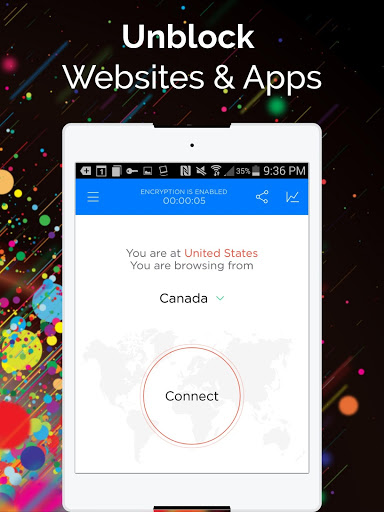 Touch VPN -Free VPN Proxy & WiFi Privacy screenshot 4