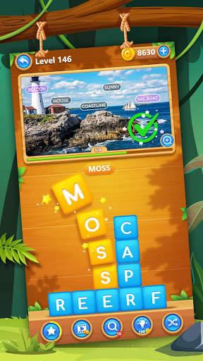 Word Swipe Pic screenshot 1