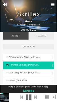 Wave Music Player screenshot 2