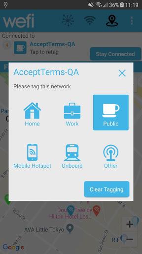 Find Wifi Beta – Free wifi finder & map by Wefi screenshot 2
