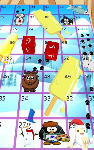 Pesky Penguins, Snakes Ladders screenshot 3