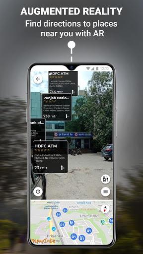 MapmyIndia Move: Maps, Navigation & Tracking скриншот 3