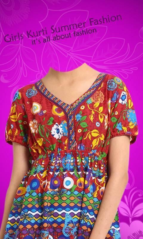 Traditional Girl Kurti Collection - Summer Suit screenshot 7