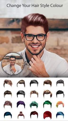Man Photo Editor : Man Hair style ,mustache ,suit screenshot 4