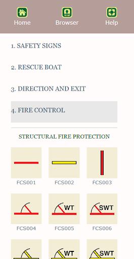 Marine Safety Signs screenshot 3