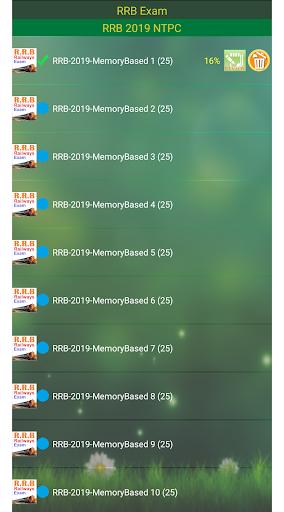 RRB NTPC Railways Exam 8 تصوير الشاشة