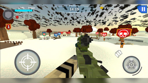 Cube Wars Battle Survival 12 تصوير الشاشة