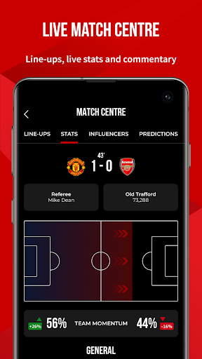Manchester United Official App screenshot 2