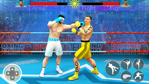 Real Punch Boxing Games: Kickboxing Super Star screenshot 3