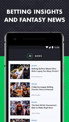 The Action Network: Sports Scores & Live Tracker 6 تصوير الشاشة