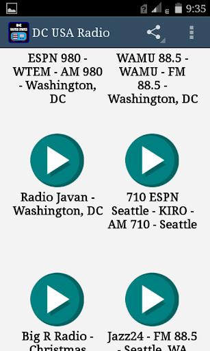DC USA FM Radio 2 تصوير الشاشة