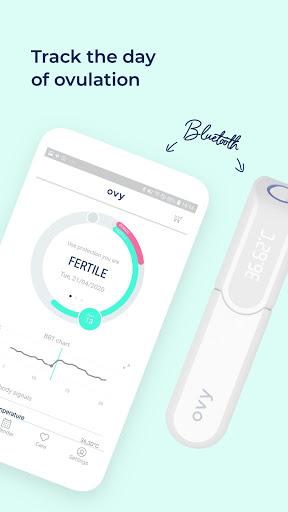 Ovy - NFP, period, ovulation, bbt, menstruation 2 تصوير الشاشة