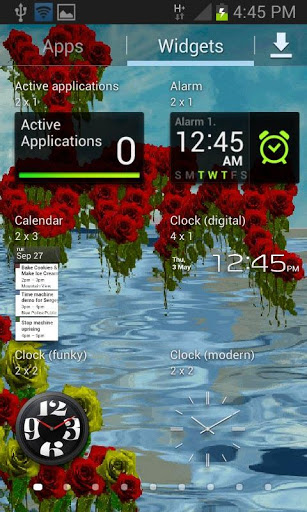 Love Flowers Live Wallpaper screenshot 3