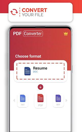 PDF Converter (doc ppt xls txt word png jpg wps) screenshot 2