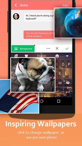 GO Keyboard - Cute Emojis, Themes and GIFs screenshot 6