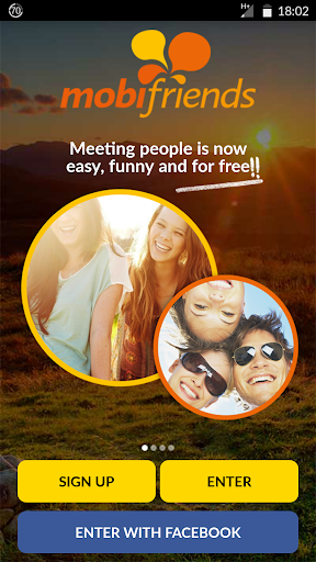 Mobifriends - Free dating 1 تصوير الشاشة