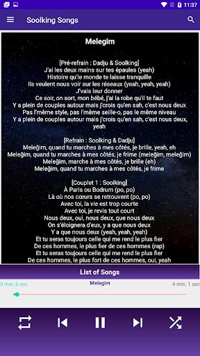 جميع اغاني سولكينغ بدون نت Soolking Songs 2021 2 تصوير الشاشة