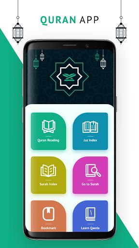 Quran Read Offline with Surah Index screenshot 1