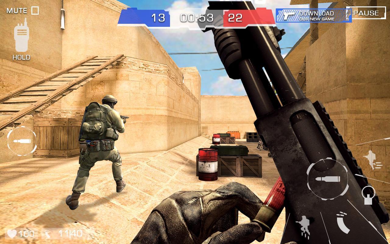Critical Strike Shoot Battleground 6 تصوير الشاشة