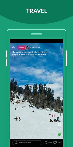 Trell - Made in India | Lifestyle Videos App 6 تصوير الشاشة