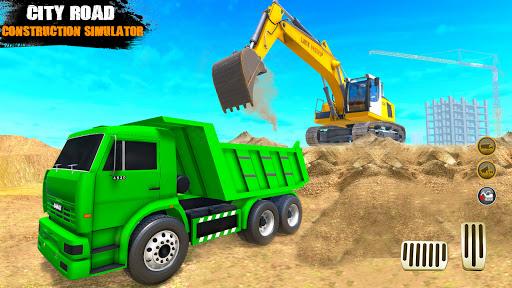 City Road Builder Highway Construction Games 2021 screenshot 4