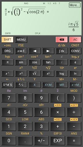 HiPER Scientific Calculator screenshot 5