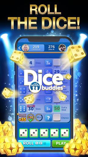 Dice With Buddies™ Free - The Fun Social Dice Game 1 تصوير الشاشة