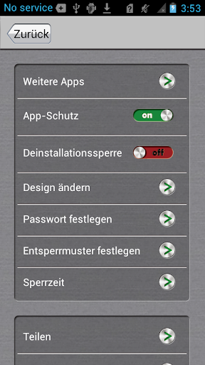 App-Sperre screenshot 4
