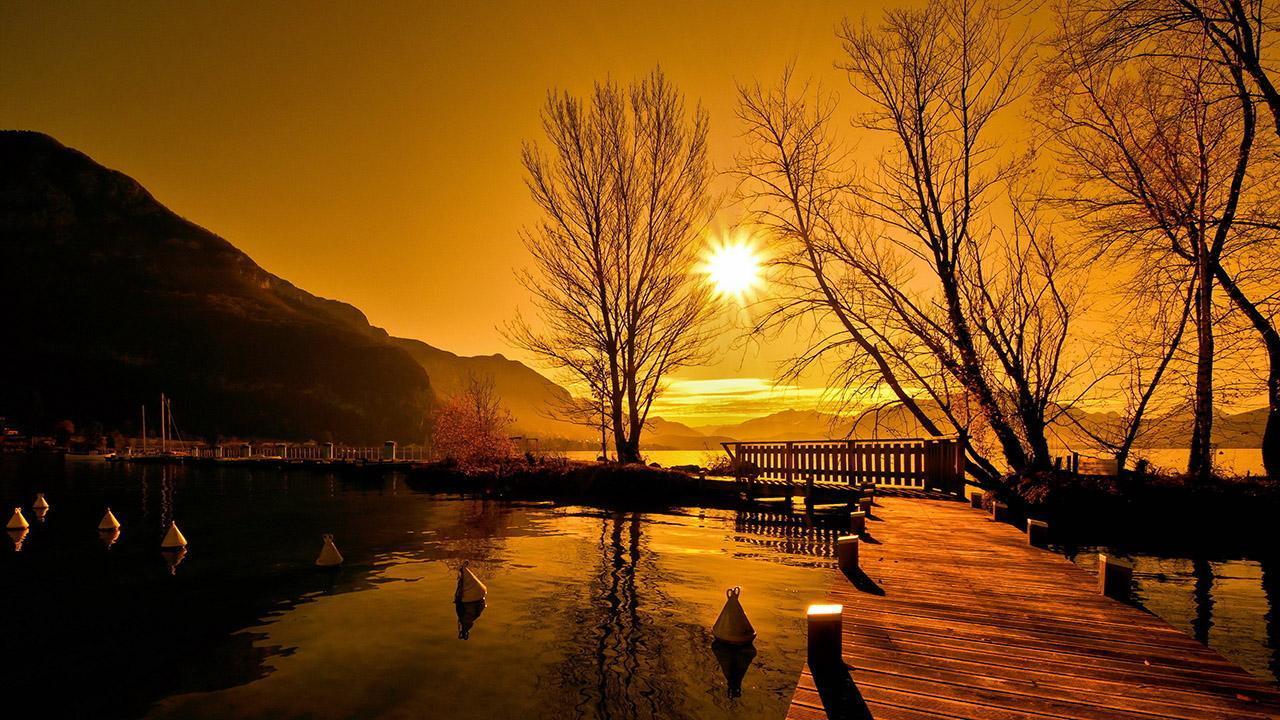 Sunset Live Wallpaper 6 تصوير الشاشة